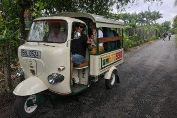 Cho thuê xe lam - thuyền du lịch