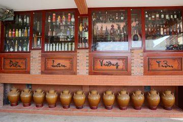 Hầm rượu - Điền Lan Vương Tửu